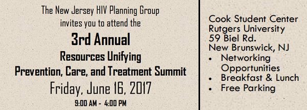 2017 3rd Annual NJ HIV Planning Group
